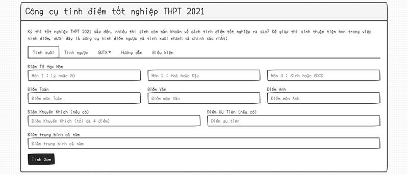 5 trang web tính điểm tốt nghiệp THPT 2021 chính xác nhất và đáng tin cậy - Ảnh 3.