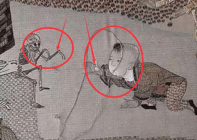 Giải mã bí ẩn quanh 'bức tranh ma' kỳ quái tồn tại 800 năm trong Tử Cấm Thành - Ảnh 2.