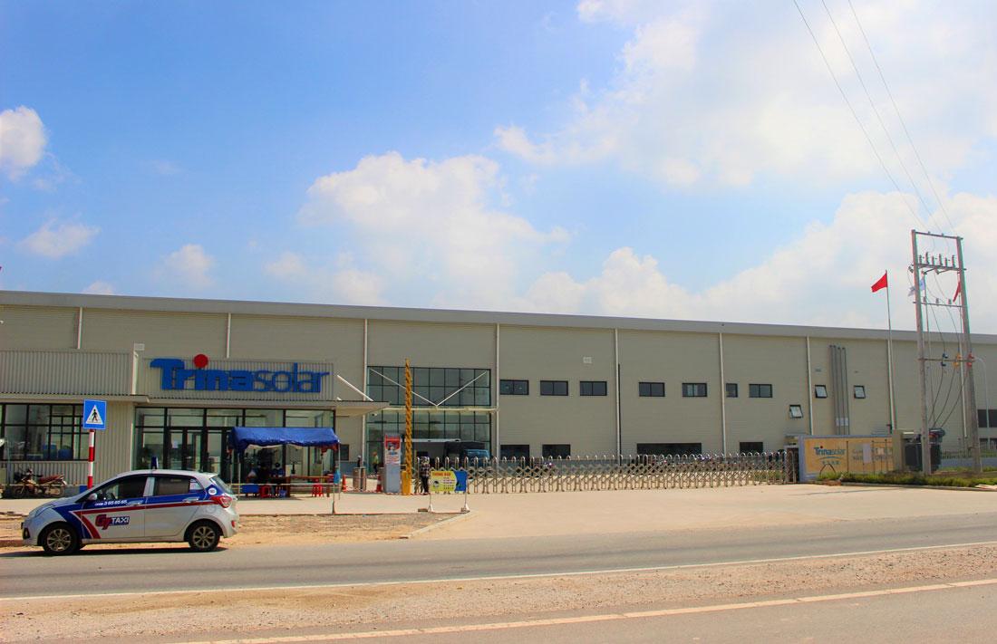 Thái Nguyên: Hoàn thành và đưa vào hoạt động nhà máy phát triển năng lượng Trina Solar 4.750 tỷ đồng - Ảnh 1.