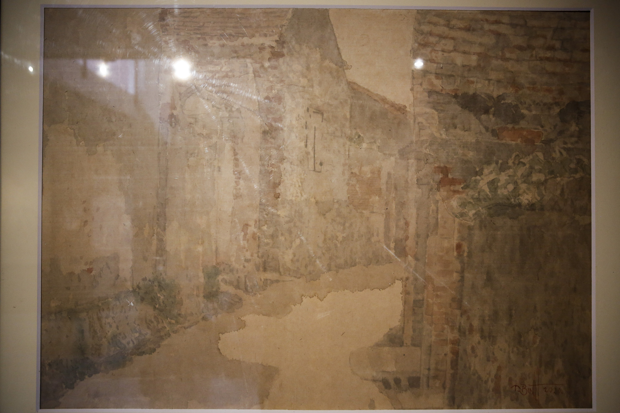 Chiêm ngưỡng không gian tranh giấy dó truyền thống đặc biệt tại Hà Nội - Ảnh 8.