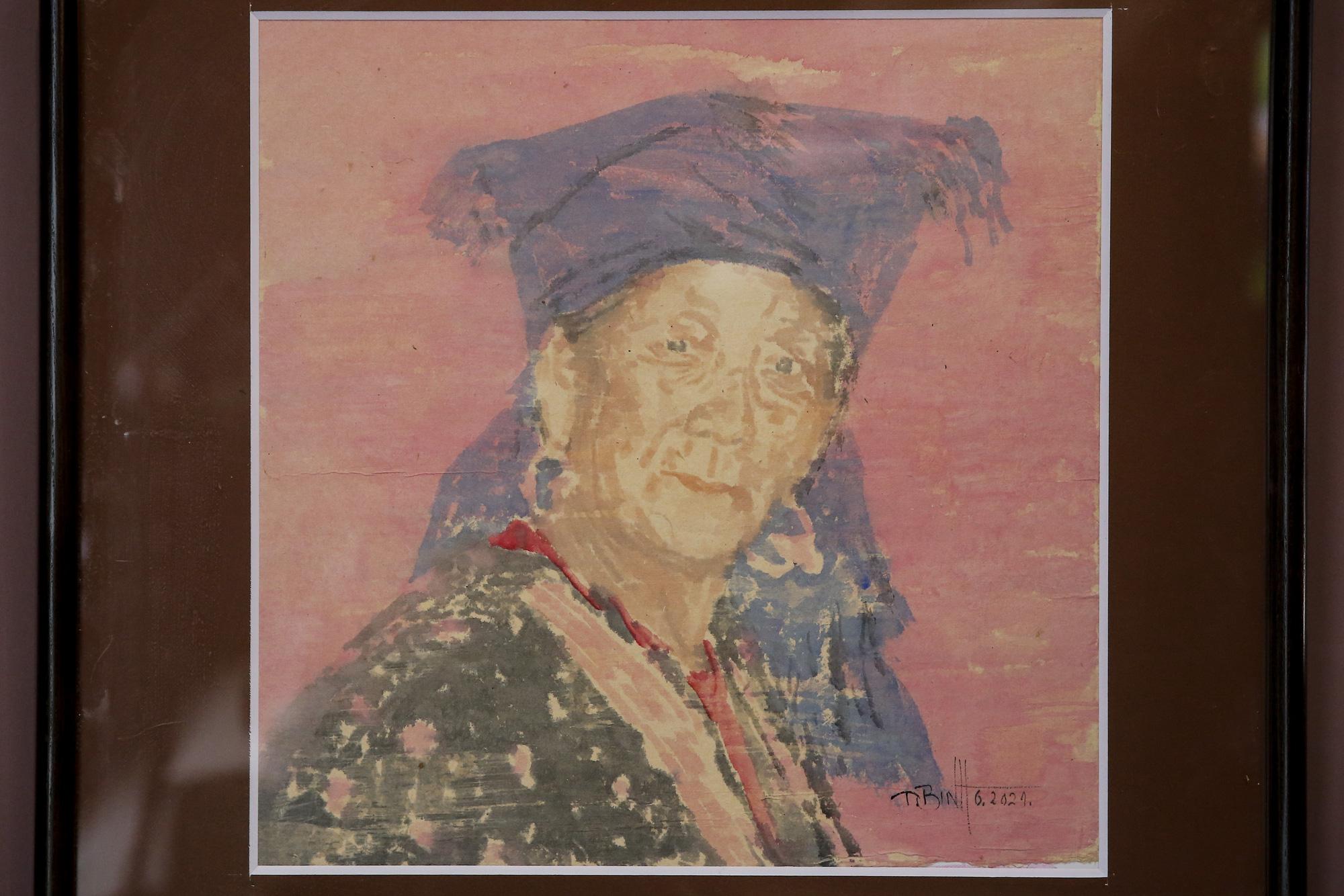 Chiêm ngưỡng không gian tranh giấy dó truyền thống đặc biệt tại Hà Nội - Ảnh 9.