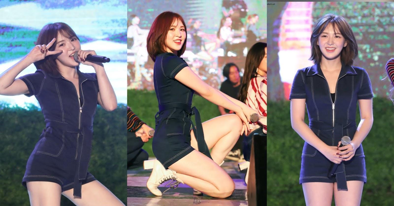 aaa 16264360193451756917961 Wendy (Red Velvet) hủy hoại hình tượng khi tham gia gamshow 18+?