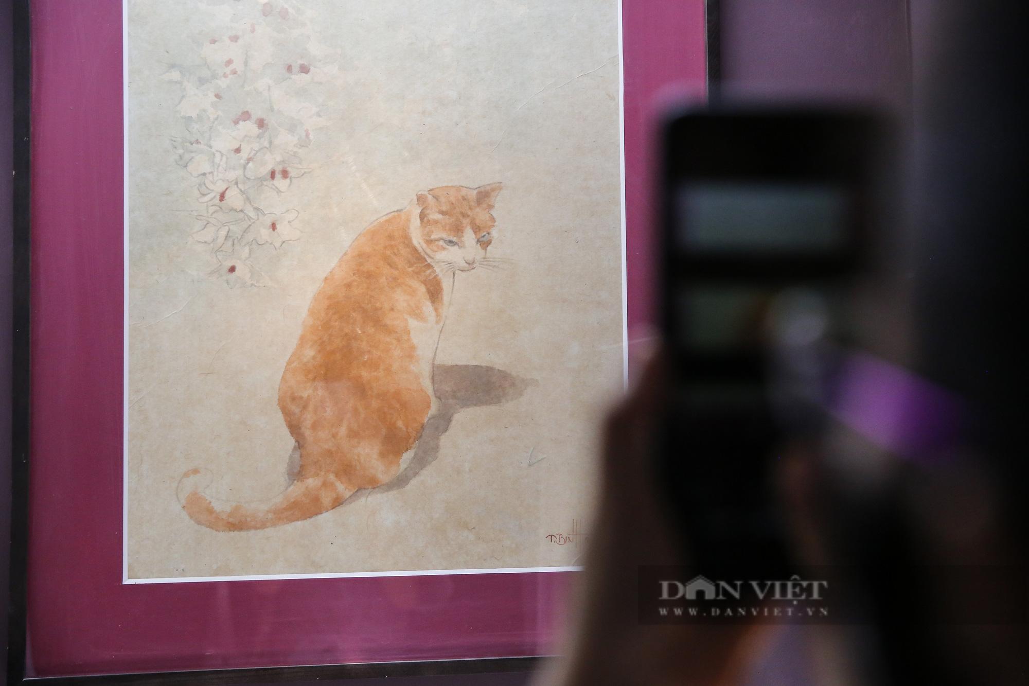 Chiêm ngưỡng không gian tranh giấy dó truyền thống đặc biệt tại Hà Nội - Ảnh 6.