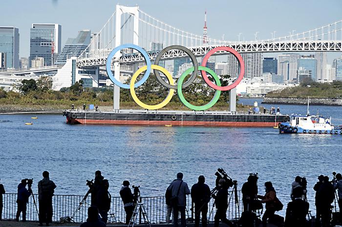 Nhật Bản: Đồng hồ đếm ngược thời gian trong cảnh vắng lặng khác thường trước thềm Olympics Tokyo 2020 - Ảnh 2.