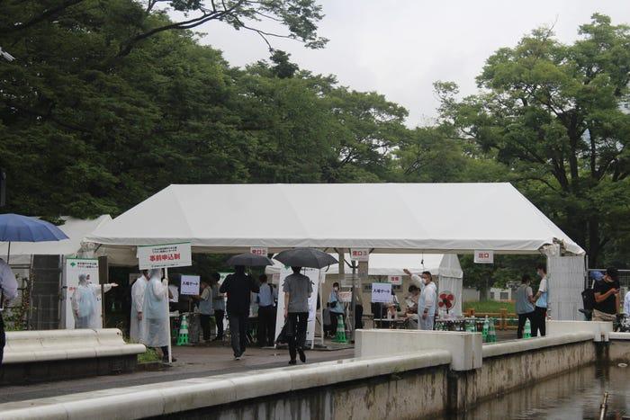 Nhật Bản: Đồng hồ đếm ngược thời gian trong cảnh vắng lặng khác thường trước thềm Olympics Tokyo 2020 - Ảnh 5.