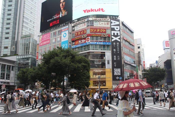 Nhật Bản: Đồng hồ đếm ngược thời gian trong cảnh vắng lặng khác thường trước thềm Olympics Tokyo 2020 - Ảnh 7.