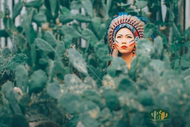 Khu vườn xương rồng đẹp không góc chết giữa lòng Hà Nội cho bộ ảnh lãng mạn giữa hoang mạc - Ảnh 2.