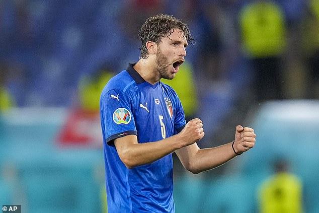 Locatelli vừa vô địch EURO 2020.