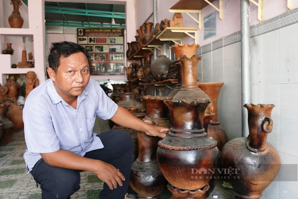 Độc đáo làng nghề gốm cổ Bàu Trúc của người Chăm tỉnh Ninh Thuận - Ảnh 4.