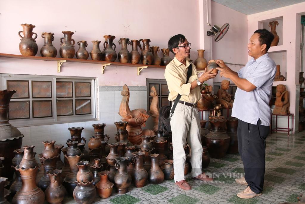 Độc đáo làng nghề gốm cổ Bàu Trúc của người Chăm tỉnh Ninh Thuận - Ảnh 7.