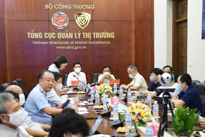 Liên Bộ Nông nghiệp - Công Thương họp khẩn tìm giải pháp cung ứng hàng hóa cho miền Nam - Ảnh 1.