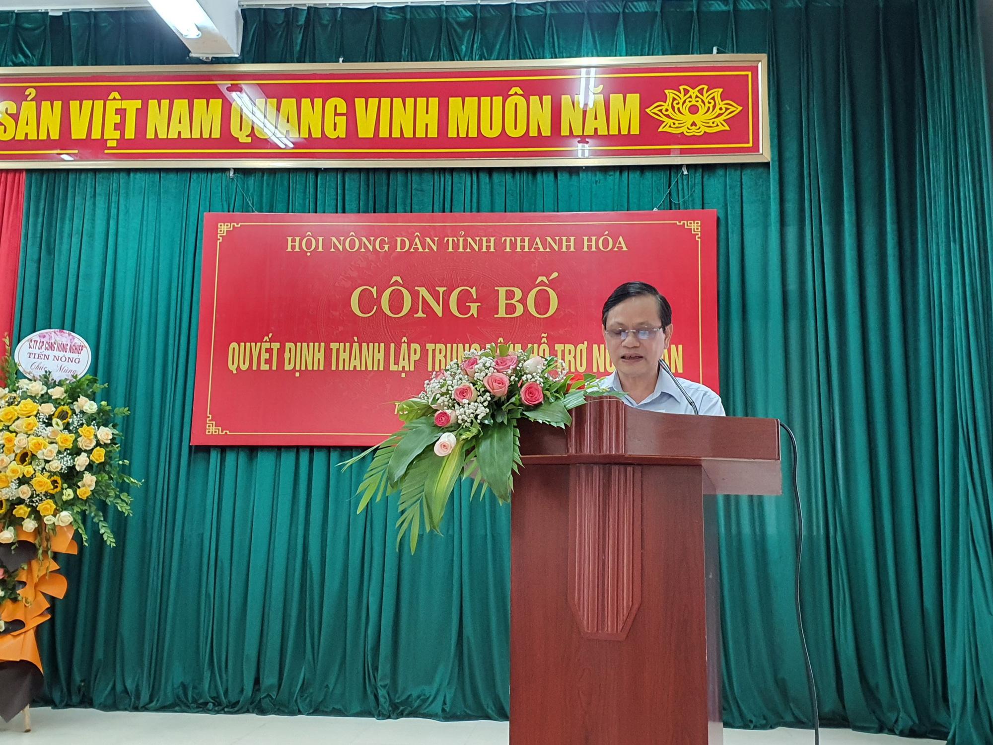 Tỉnh Thanh Hóa thành lập Trung tâm Hỗ trợ nông dân - Ảnh 3.