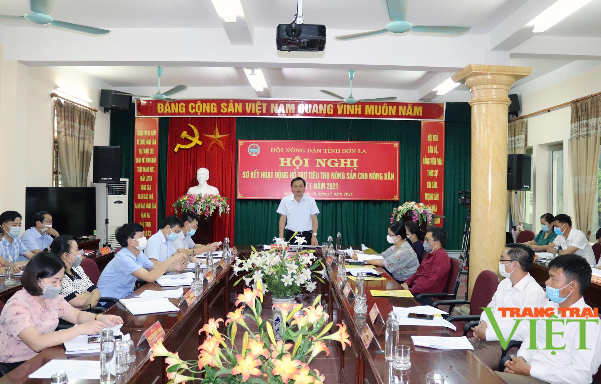 Các cấp Hội Nông dân tỉnh Sơn La hỗ trợ tiêu thụ gần 5.000 tấn nông sản - Ảnh 1.