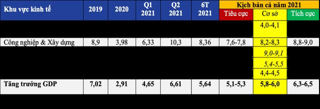 """Kịch bản tiêu cực, tăng trưởng GDP từ 5,1-5,3%, chuyên gia khuyến nghị """"tìm kiếm các động lực tăng trưởng thay thế, bổ sung"""" - Ảnh 1."""