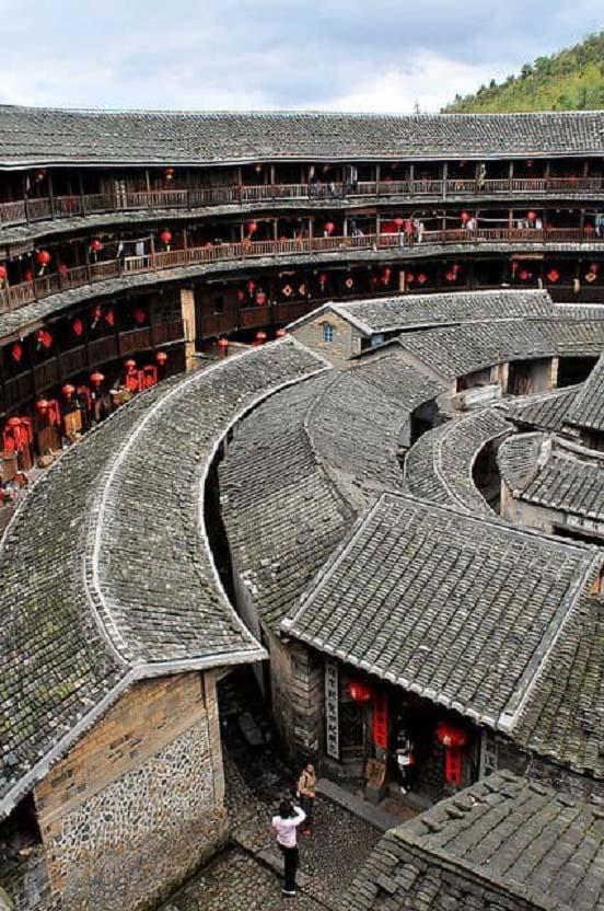 """Khám phá Phúc Kiến thổ lâu - Thành quách """"bất khả xâm phạm"""" của Trung Quốc - Ảnh 1."""