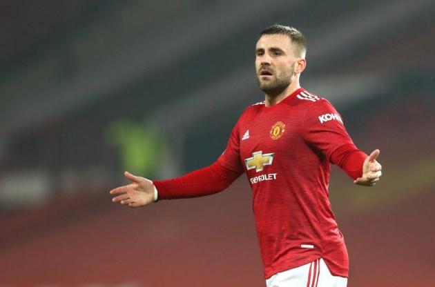 Shaw vừa tỏa sáng rực rỡ ở EURO 2020.