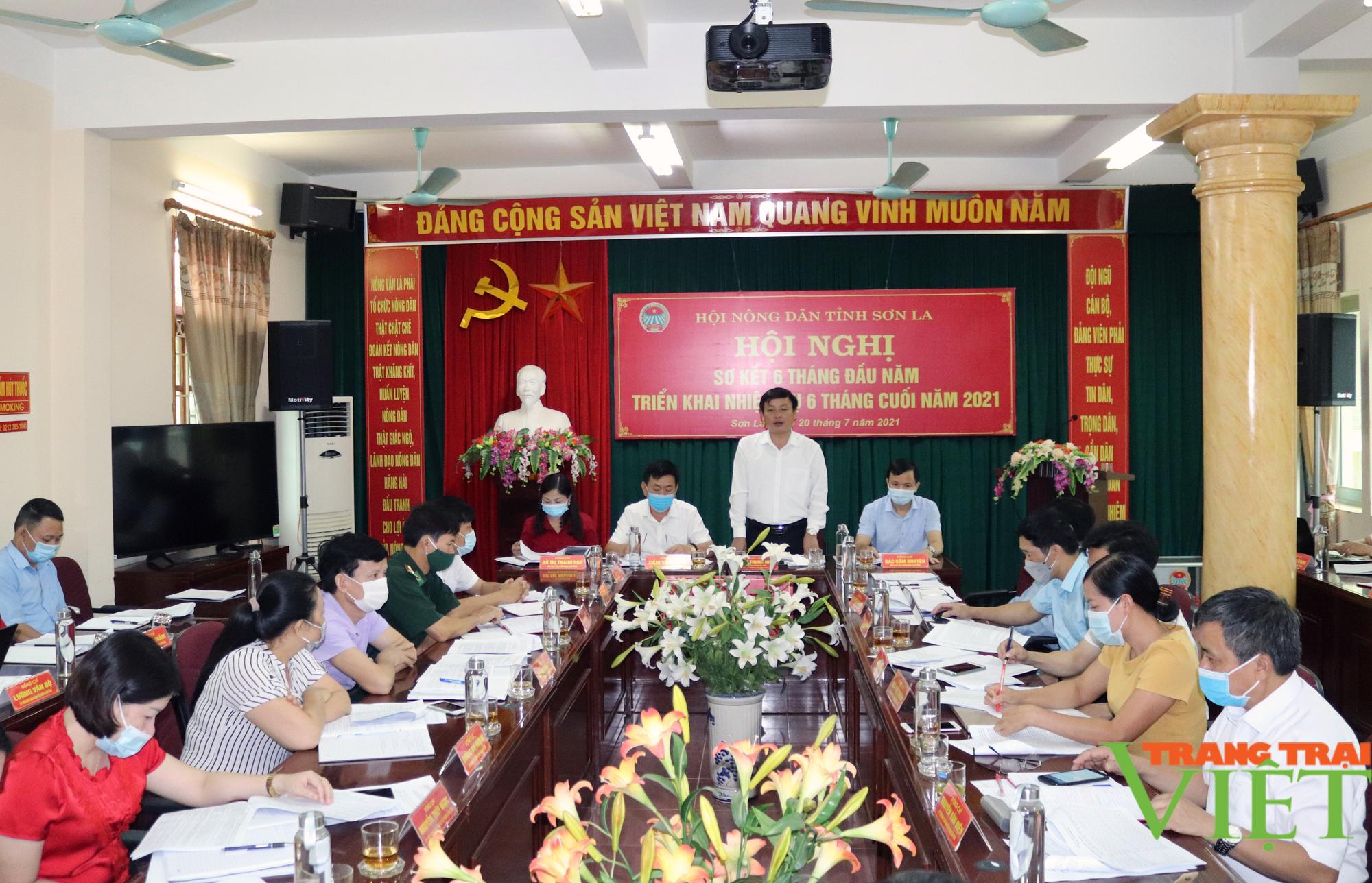 HND Sơn La: Hội nghị sơ kết 6 tháng đầu năm - Ảnh 1.