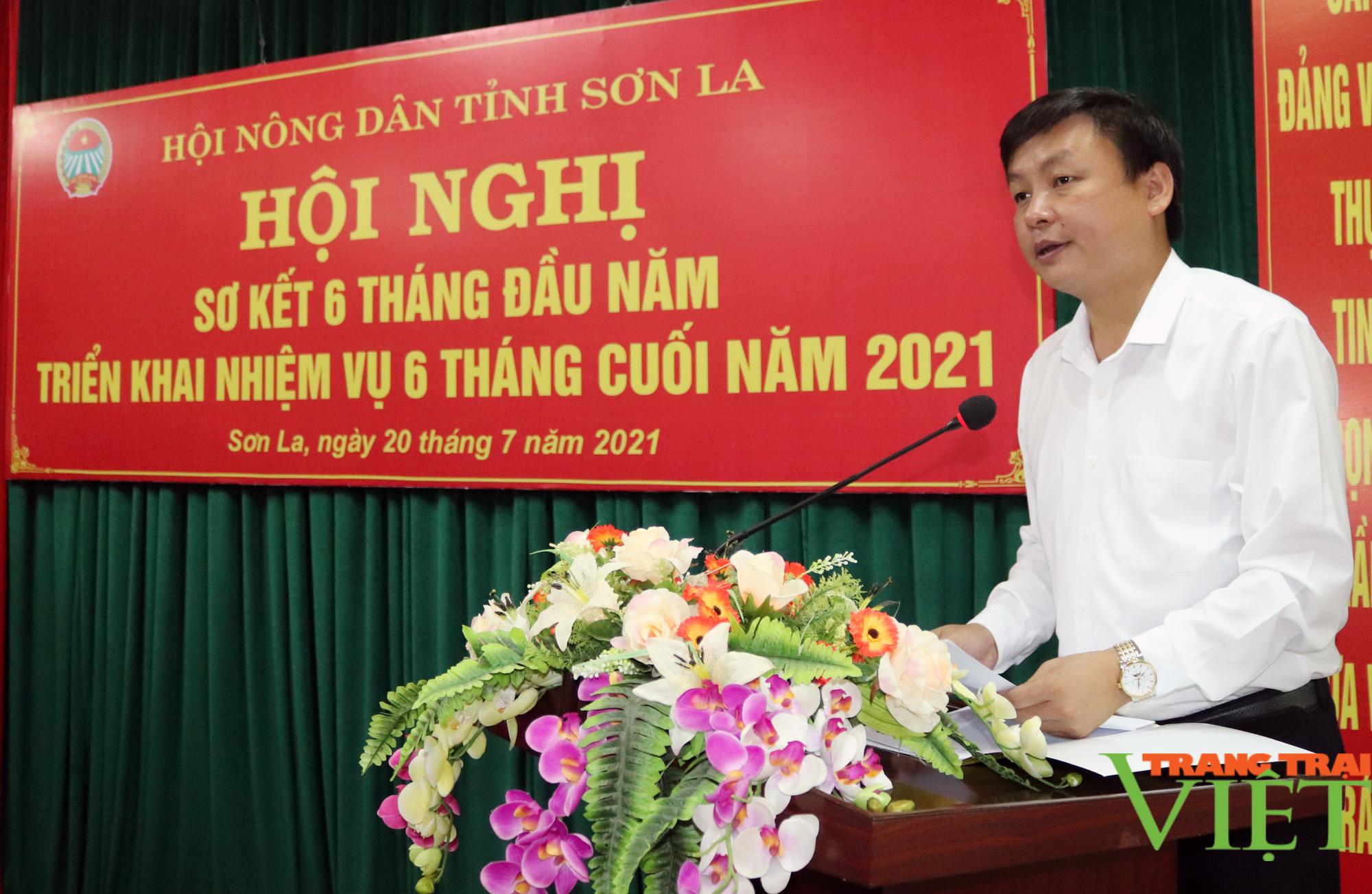 HND Sơn La: Hội nghị sơ kết 6 tháng đầu năm - Ảnh 2.