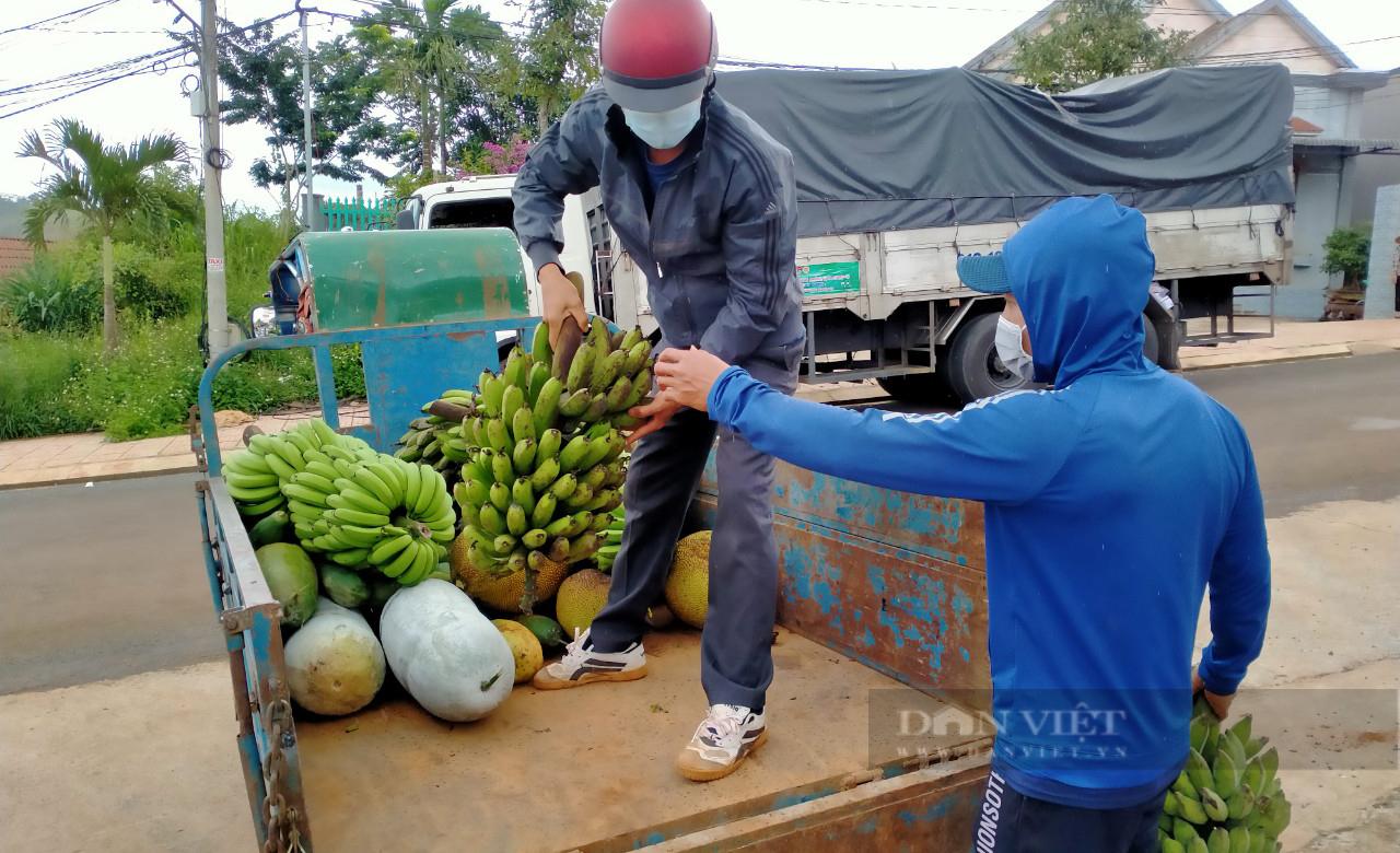 Nông dân Đắk Nông gom hàng trăm tấn nông sản hỗ trợ người dân vùng dịch - Ảnh 9.