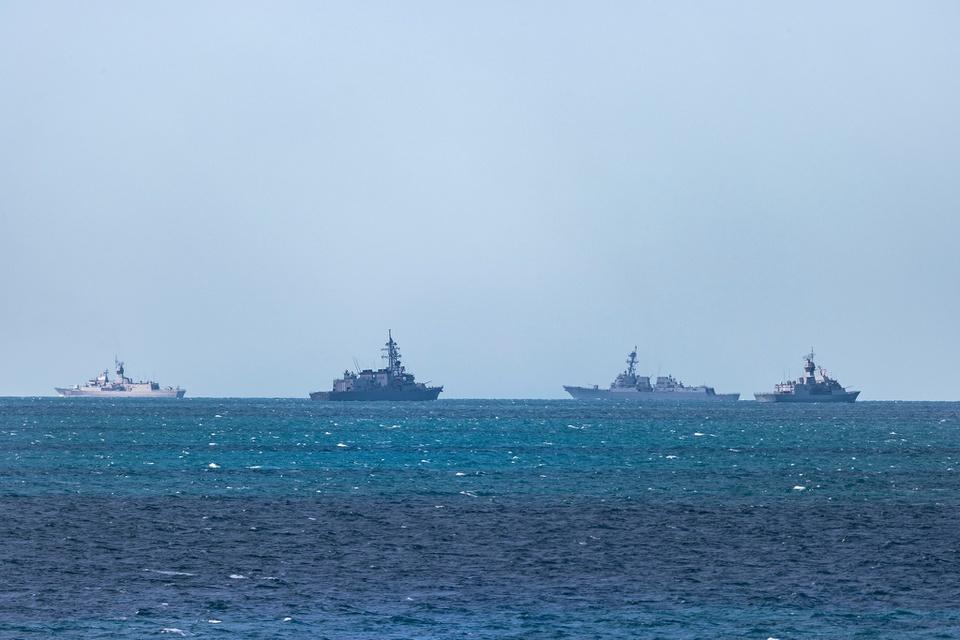 Hình ảnh tên lửa, tàu chiến khai hỏa tại tập trận quốc tế ở Australia - Ảnh 10.