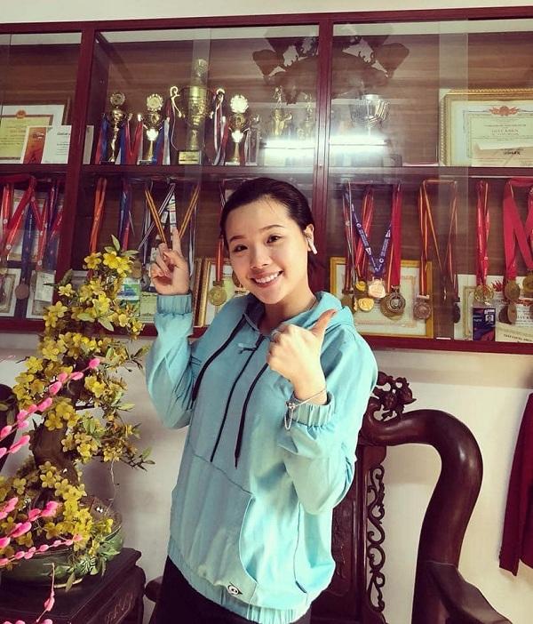 Thùy Linh: Hoa khôi của Đoàn thể thao Việt Nam dự Olympic 2020 - Ảnh 8.