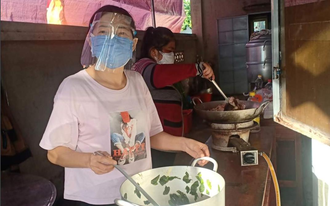 Đồng Nai: Bếp ăn đỏ lửa mỗi ngày để nấu cơm ngon, hỗ trợ tuyến đầu chống dịch
