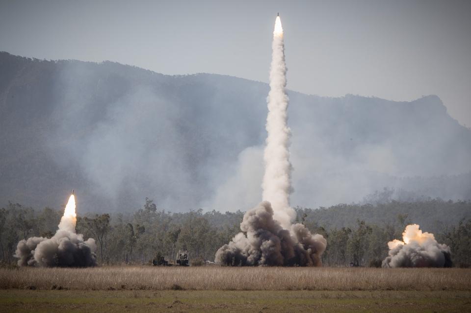 Hình ảnh tên lửa, tàu chiến khai hỏa tại tập trận quốc tế ở Australia - Ảnh 6.