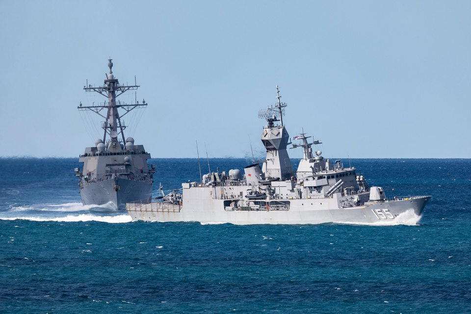 Hình ảnh tên lửa, tàu chiến khai hỏa tại tập trận quốc tế ở Australia - Ảnh 8.