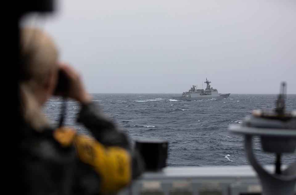 Hình ảnh tên lửa, tàu chiến khai hỏa tại tập trận quốc tế ở Australia - Ảnh 9.