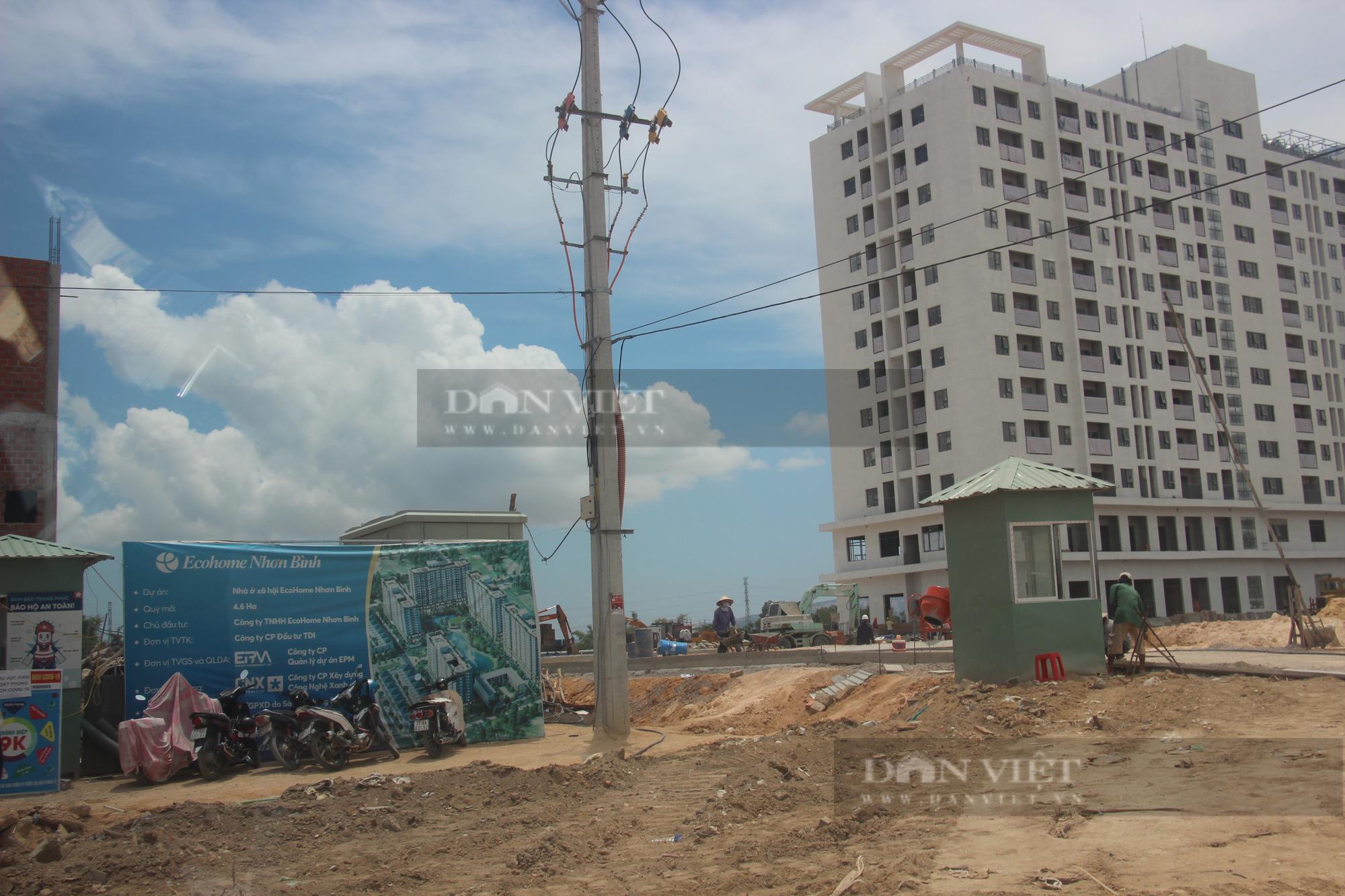 """Ngang nhiên dùng đất """"lậu"""" thi công dự án Nhà ở xã hội Ecohome Nhơn Bình? - Ảnh 8."""