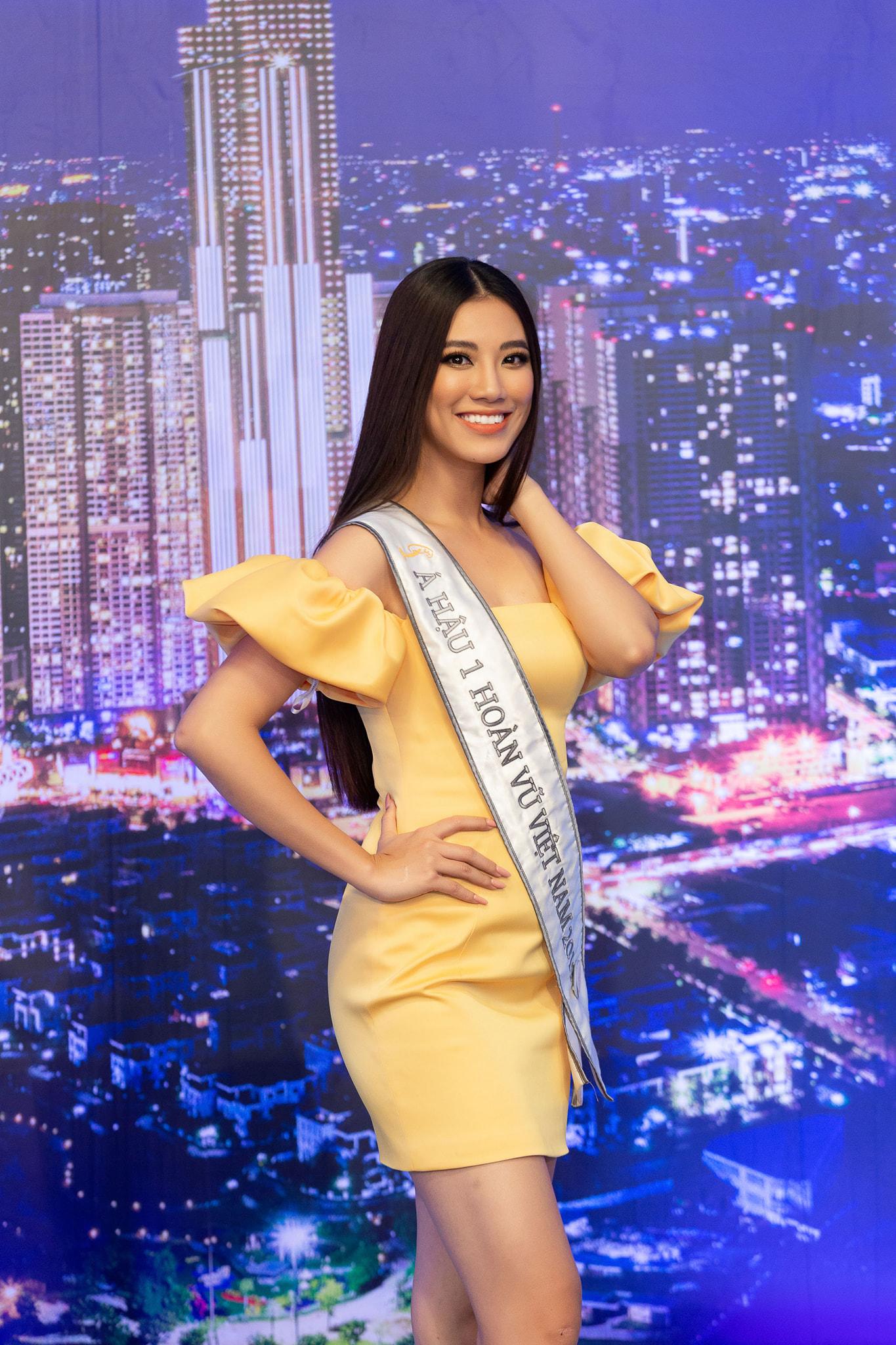 kim duyen 1626839323514936110926 Á hậu Kim Duyên nói gì trước thềm thi Miss Universe 2021?