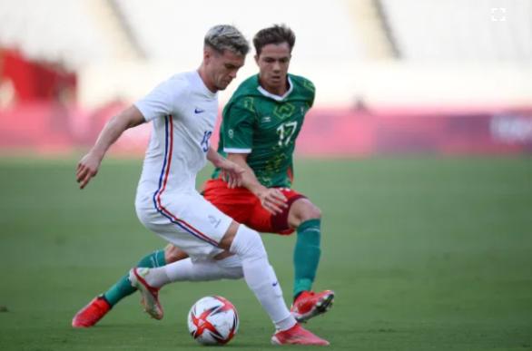 Kết quả bóng đá Olympic ngày 22/7: Pháp thảm bại trước Mexico - Ảnh 1.