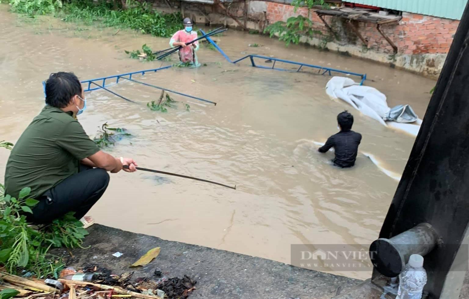Đồng Nai: Chốt kiểm soát dịch những ngày mưa - Ảnh 3.