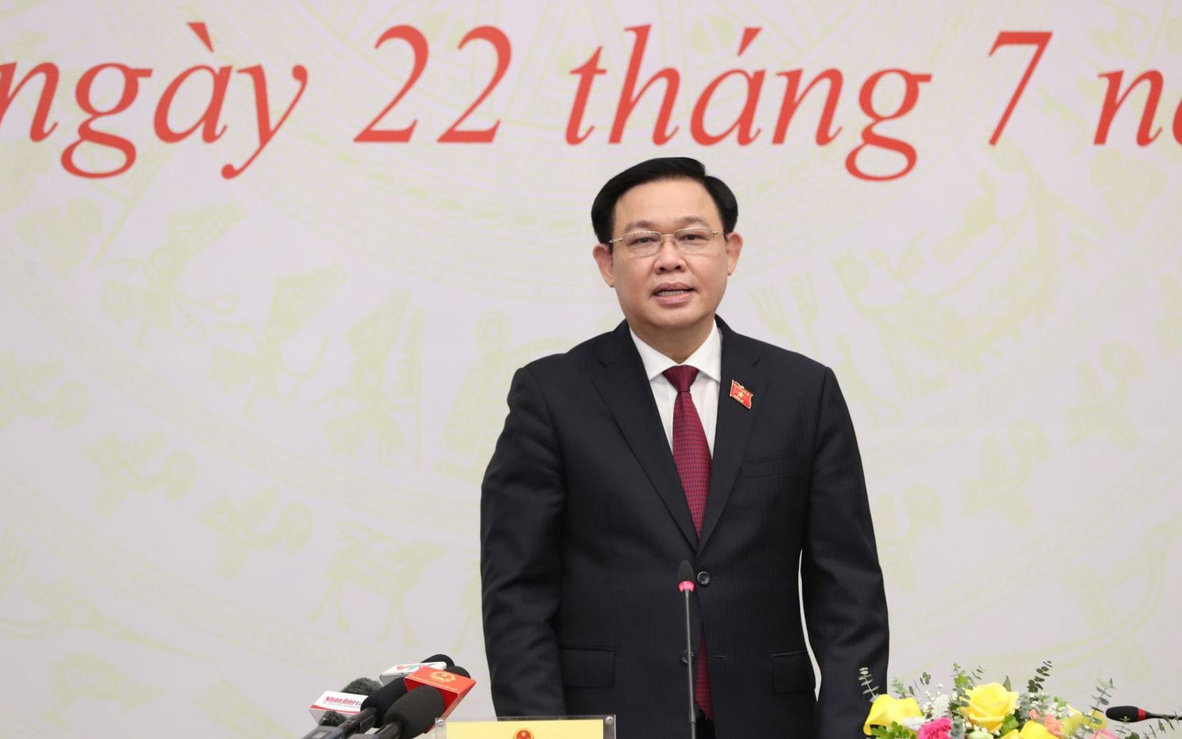 Chủ tịch Quốc hội Vương Đình Huệ chia sẻ cảm xúc về 2 lần tuyên thệ