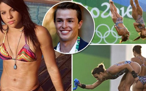 Sex cả đêm, Hoa hậu nhảy cầu Brazil bị đuổi khỏi… Olympic! - Ảnh 3.