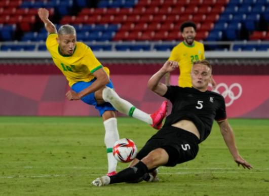 Kết quả bóng đá Olympic ngày 22/7: Richarlison tỏa sáng, Brazil đánh bại Đức - Ảnh 2.