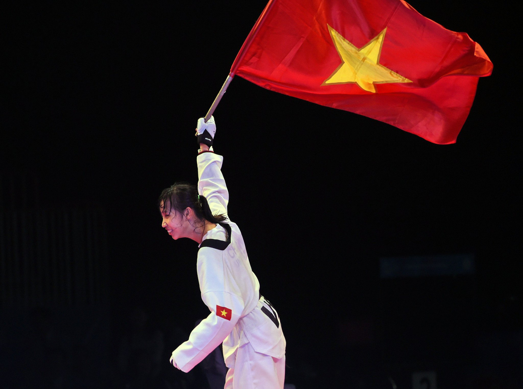 VĐV taekwondo Trương Thị Kim Tuyền: 2 lần cãi lời cha mẹ, theo đuổi nghiệp đánh đấm - Ảnh 1.