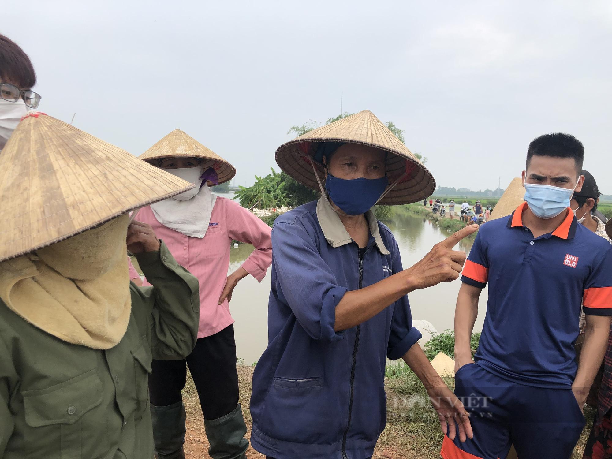 Bắc Ninh: Vì đâu người dân thôn An Động ngăn cản không cho san lấp dự án KCN Nam Sơn - Hạp Lĩnh? - Ảnh 1.