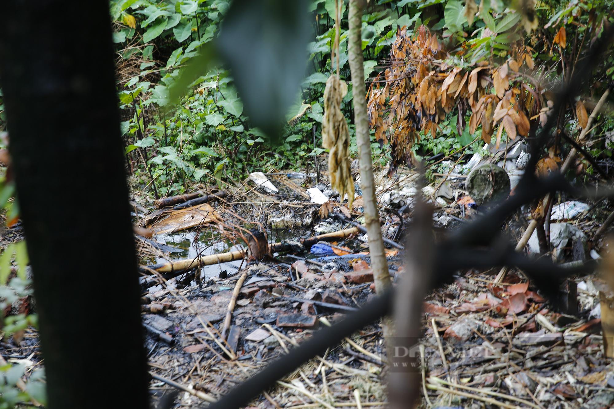 """""""Giậm chân tại chỗ"""" 7 năm, một hồ nước giữa trung tâm Hà Nội bị xâm lấn, ô nhiễm nặng - Ảnh 4."""