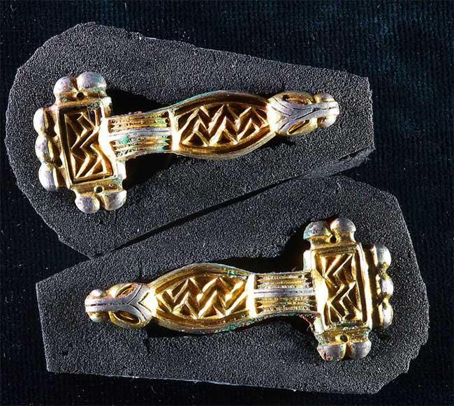 Mộ cổ 6 người vợ hoàng tử: 80 hài cốt tuẫn táng và... đầy vàng - Ảnh 1.