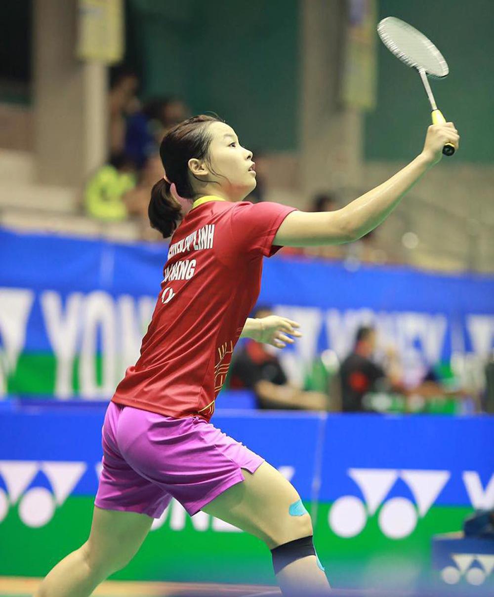 Vẻ đẹp hotgirl cầu lông Việt Nam thắng đối thủ gốc Trung Quốc tại Olympic Tokyo - Ảnh 11.