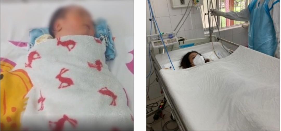 Cần Thơ: Cứu sống mẹ con sản phụ mắc Covid-19 suy hô hấp, nguy kịch - Ảnh 2.