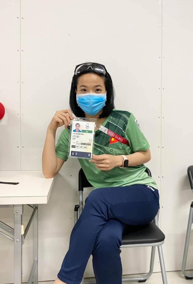 Vẻ đẹp hotgirl cầu lông Việt Nam thắng đối thủ gốc Trung Quốc tại Olympic Tokyo - Ảnh 5.