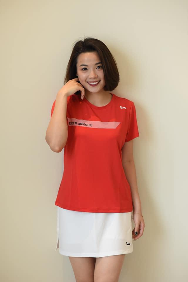 Vẻ đẹp hotgirl cầu lông Việt Nam thắng đối thủ gốc Trung Quốc tại Olympic Tokyo - Ảnh 7.