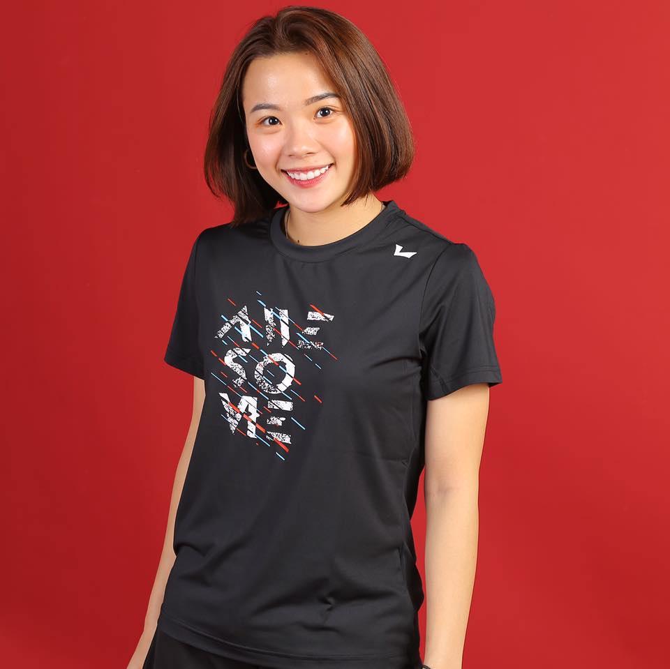 Vẻ đẹp hotgirl cầu lông Việt Nam thắng đối thủ gốc Trung Quốc tại Olympic Tokyo - Ảnh 8.