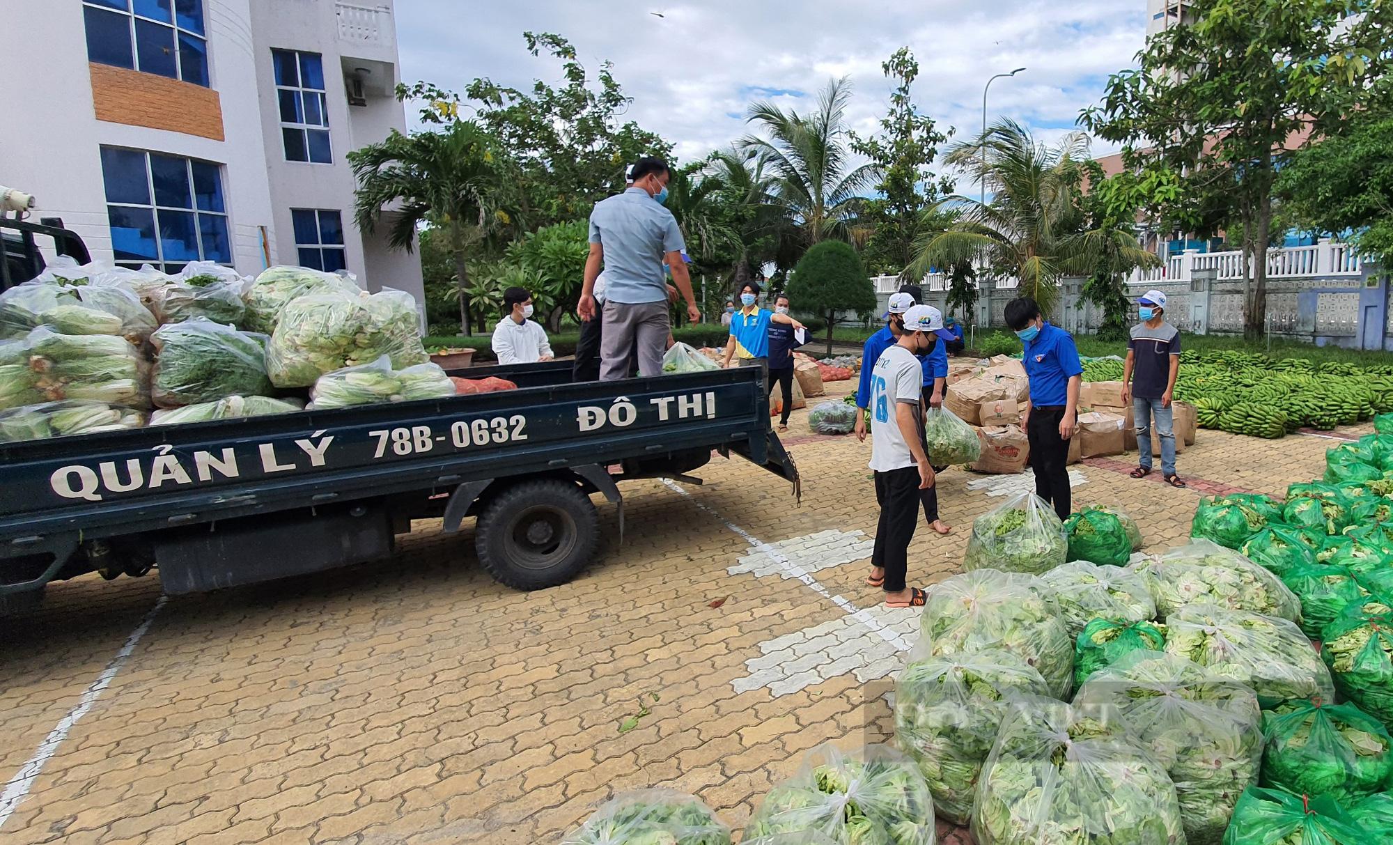 Phú Yên: Tạo thuận lợi cho người vận chuyển hàng hóa trong dịch Covid-19 - Ảnh 1.
