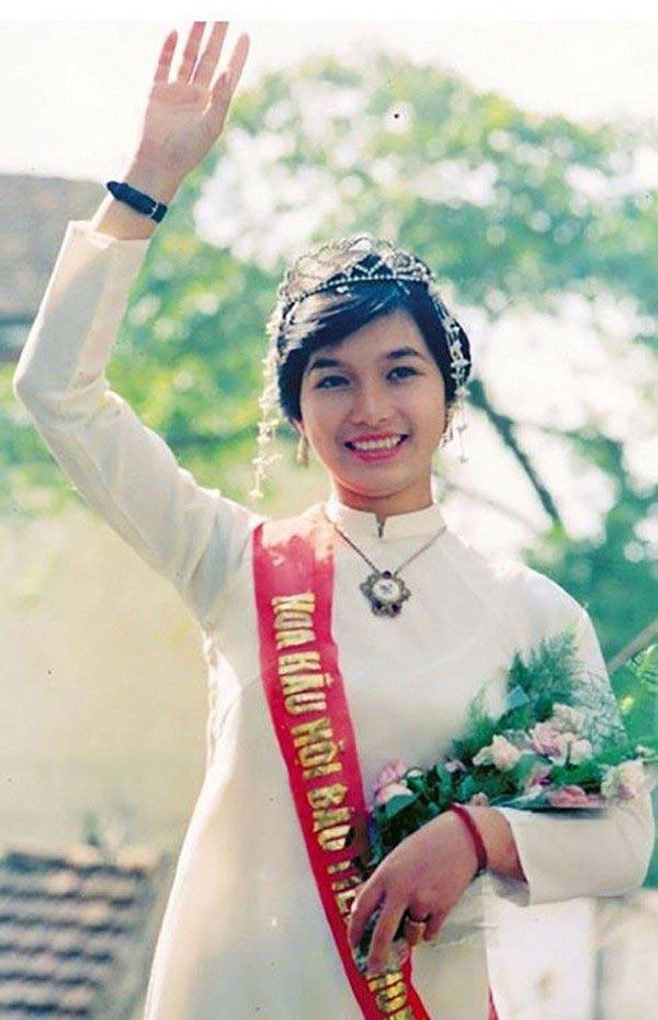 Hoa hậu Việt Nam đầu tiên từ khi đất nước thống nhất: Xuất thân từ gia đình nghèo, chỉ cao 1m58 - Ảnh 1.