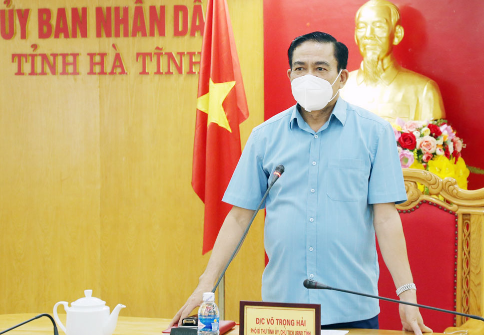 Chủ tịch UBND tỉnh Hà Tĩnh Võ Trọng Hải: 'Công Vinh, Thủy Tiên không nhận vơ đồ ủng hộ đâu' - Ảnh 1.