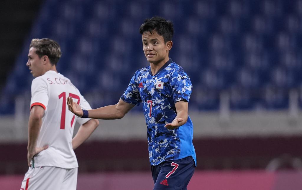 Kết quả bóng đá nam Olympic Tokyo 2020: Nhật Bản đánh bại Mexico - Ảnh 1.