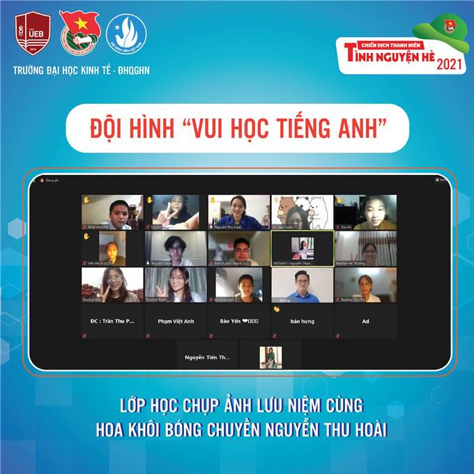 """Chân dài bóng chuyền Nguyễn Thu Hoài 1m75: Nghỉ dịch, thành """"cô giáo"""" dạy tiếng Anh - Ảnh 4."""